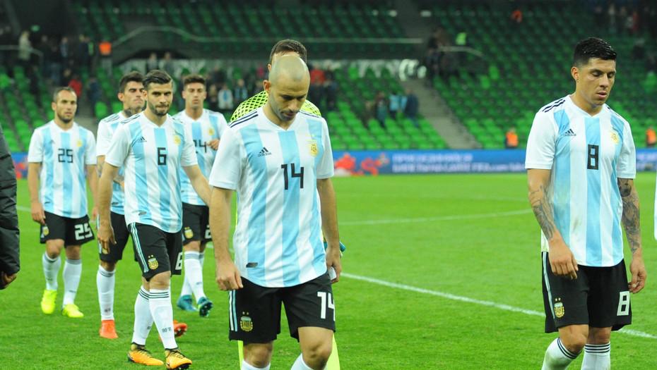 Argentine - Nigéria